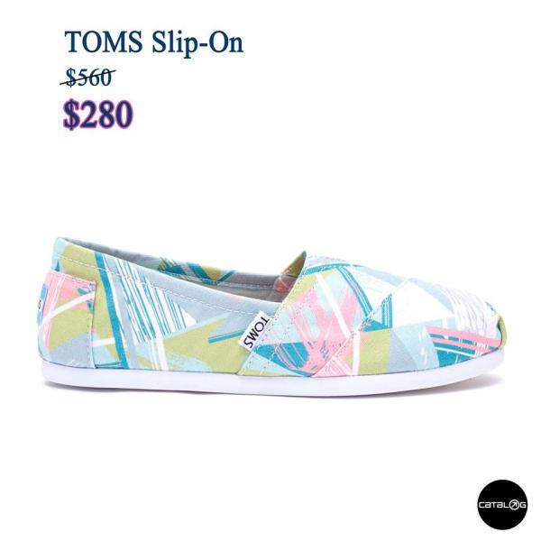 精選鞋款低至$120!TOMS期間限定店GOODBYE SALE
