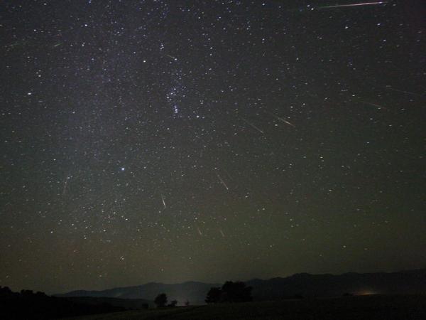獵戶座流星雨10月上演 高峰期每小時可達17顆 (圖: NASA 攝影:Tunc Tezel)