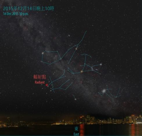 雙子座流星雨2016  高峰期每小時達120顆