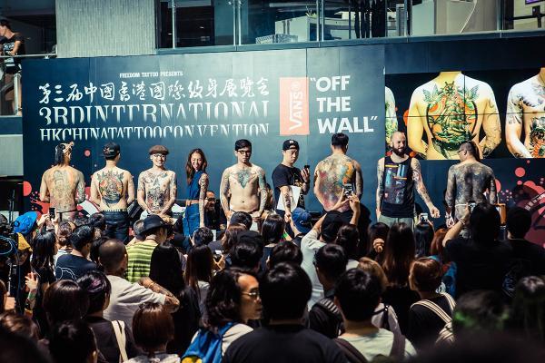 國際紋身展10月啟德舉行