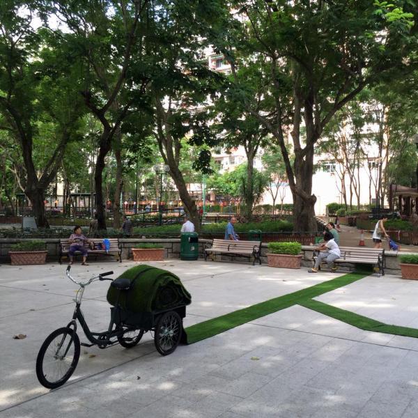 觀塘月華街遊樂場 變身藝術公園