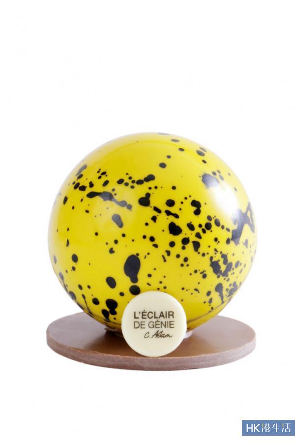 L' Éclair de Genie玩中西合璧 朱古力月餅激似Ultra Ball