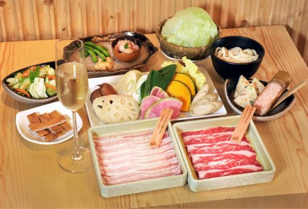 週末限定!温野菜SHABU SHABU Brunch Set