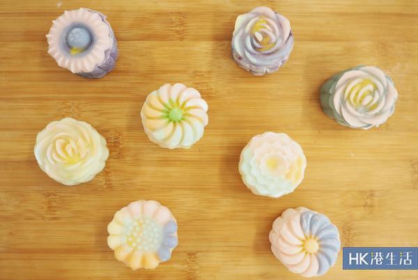 夢幻Pantone色花型月餅工作坊