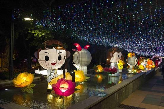 新界東中秋綵燈會2016(圖為2014年花燈展相片)