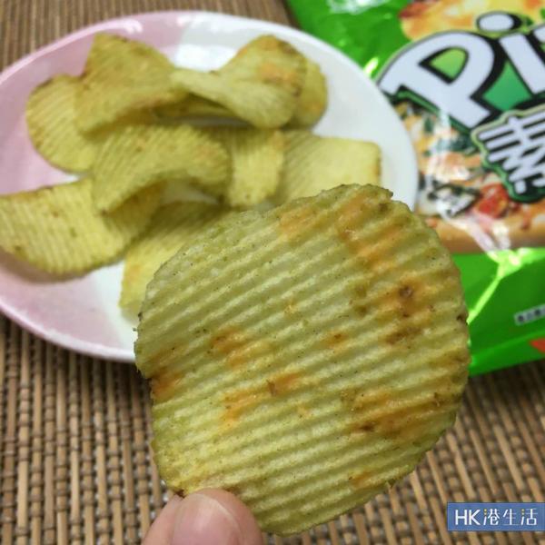 真有菜味?卡樂B限定素菜薄餅味薯片