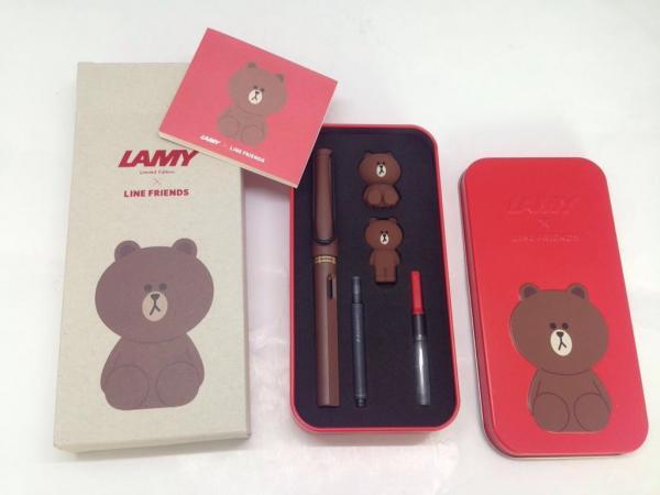 優先訂購!LAMY X LINE 熊大限量版套裝
