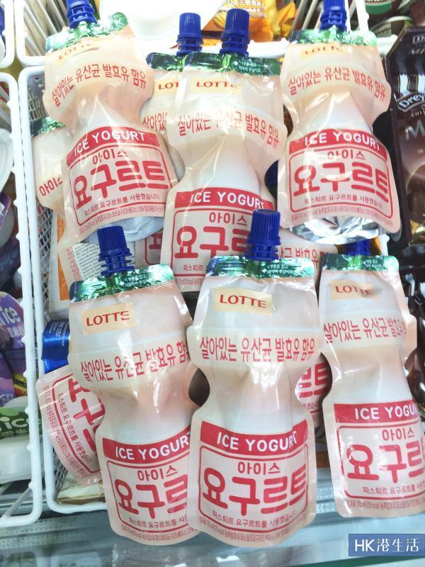 香港都有!韓國大熱益力多唧唧沙冰