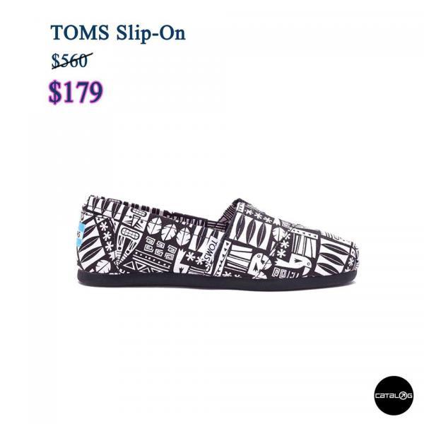 Vans、TOMS$199起!Catalog大激安第二回