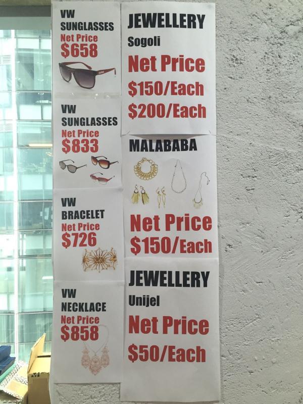 Vivienne Westwood減價低至15折
