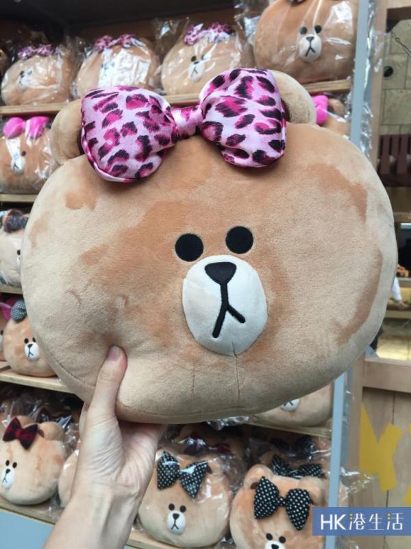 【會場限定】熊妹Cushion(合共5款,$200/個)