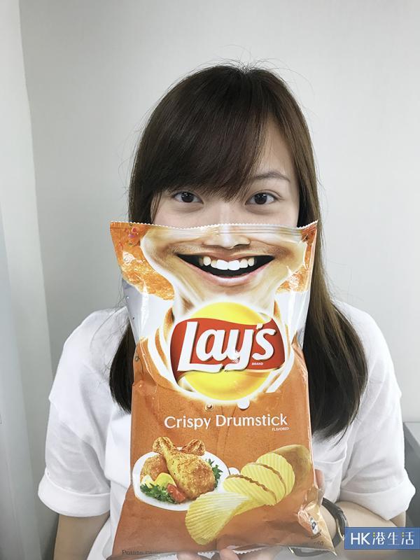 便利店都買到!泰國限定笑臉薯片