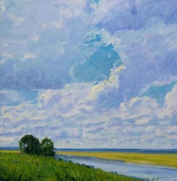 展覽的麓湖派油畫作品。