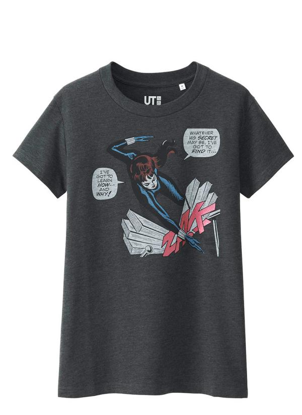 女裝MARVEL 印花T恤 [短袖] 售價均為$99