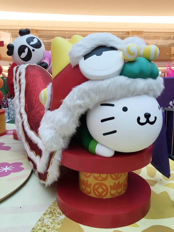 要跟XO來個抱抱!XO與好友將在7個商場與你過新年