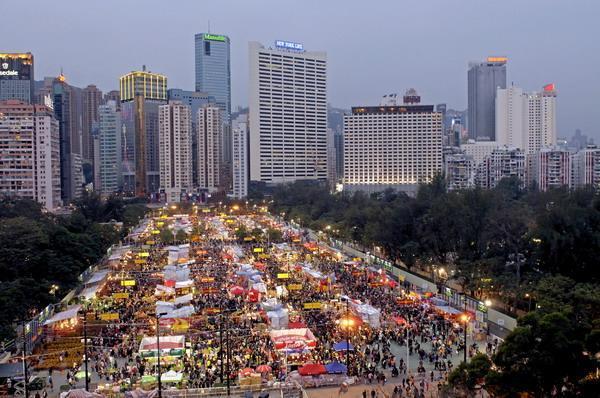 香港年宵市場2017(港島區)銅鑼灣維多利亞公園
