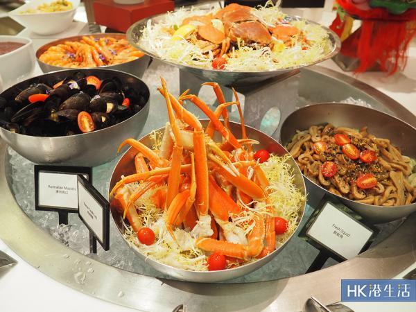 $200有找食海鮮回本!銅鑼灣自助晚餐半價優惠