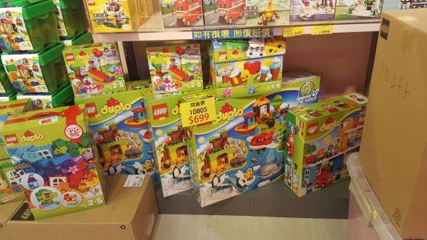 低至3折發售!Lego旺角開倉大特賣