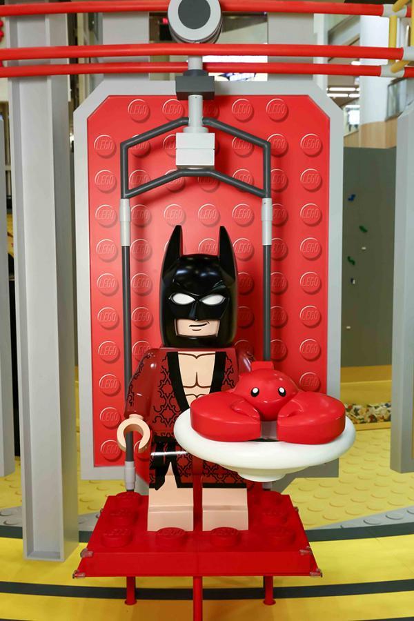 首次曝光!LEGO蝙蝠俠全新造型現身奧海城