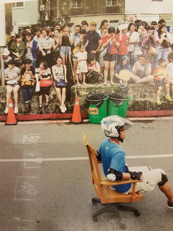全港首個辦公chair速度賽