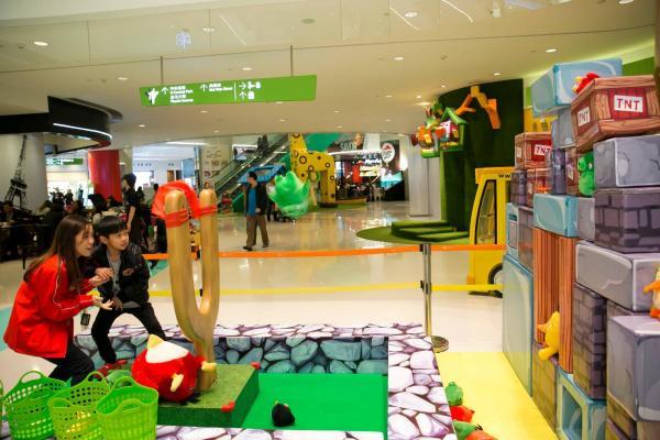 荃灣Angry Birds主題遊樂場