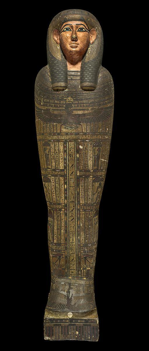 內斯達華狄特的木乃伊內棺木
