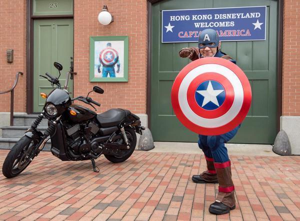 預告!迪士尼Marvel超級英雄跑