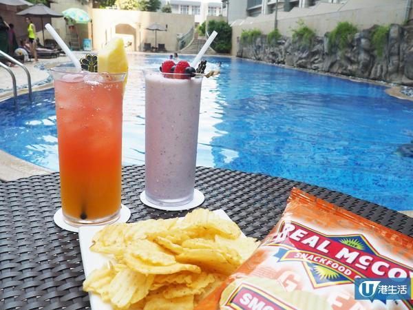 8度海逸酒店暑假Party住宿 包多款派對小食、啤酒、蛋糕