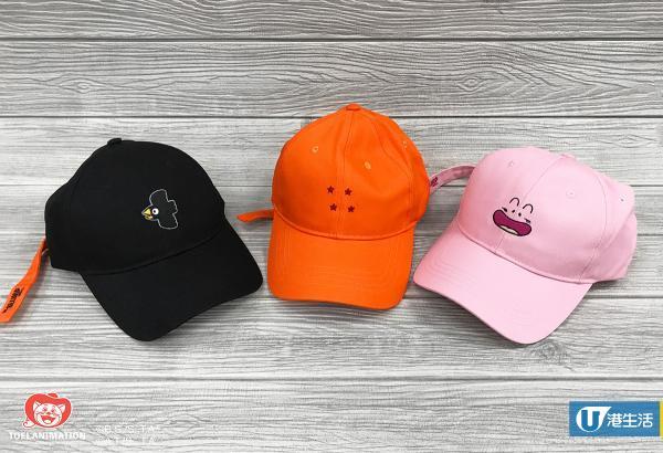 Cap帽 $189/頂 (黑/粉紅/燈色)