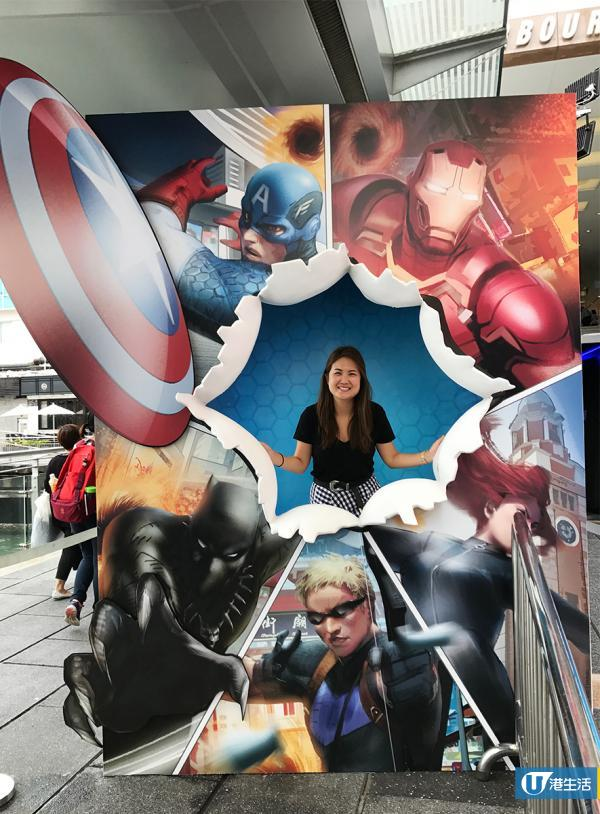 尖沙咀4米巨型Marvel漫畫 1:1 Iron man任影任睇