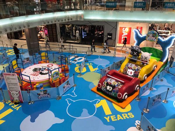 Andox & 黑仔踏入10週年 設置三大派對遊戲區