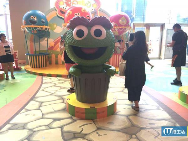 九龍灣全新芝麻街遊樂園!15呎巨型Elmo登場