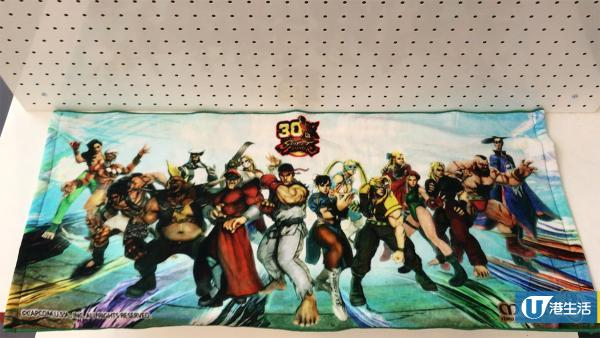 1:1 Street Fighter主角首現香港 新蒲岡商場重現經典格鬥場