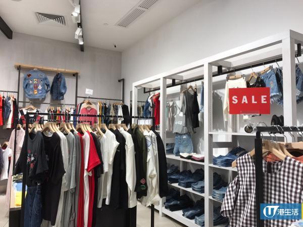 日牌SLY、MOUSSY減價 全場春夏貨品5折