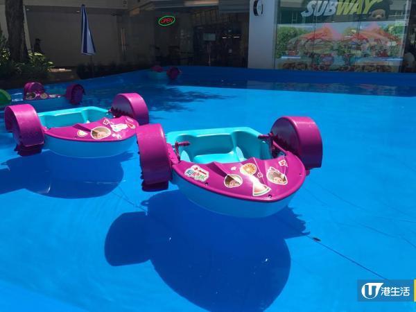 Monchhichi水上樂園 $150玩盡滑水梯/水上滾輪/撐船仔/水上飛鏢