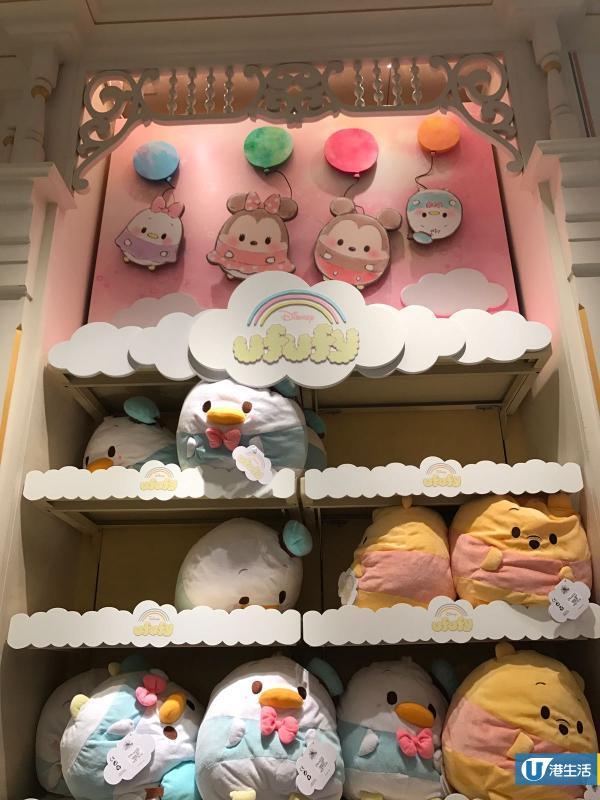 香港迪士尼樂園有得賣!軟綿綿ufufy公仔系列