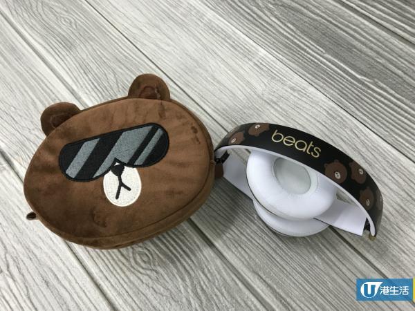 熊大戴黑超Cap帽!BEATS BY DR. DRE特別版熊大耳機 率先開箱