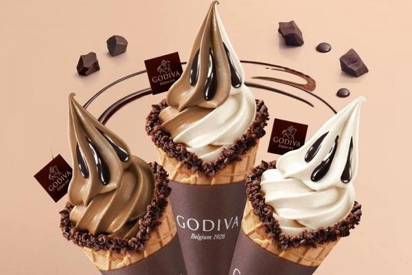 GODIVA雪糕期間限定優惠 軟雪糕+杯裝雪糕都有折