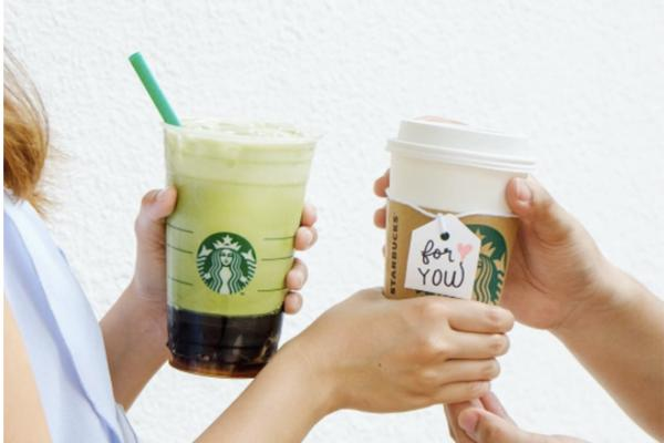 Starbucks 1日限定優惠 指定分店飲品買一送一