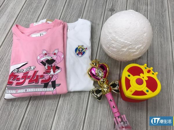 美少女戰士新品登場!:CHOCOOLATE X美少女戰士精品服飾率先睇