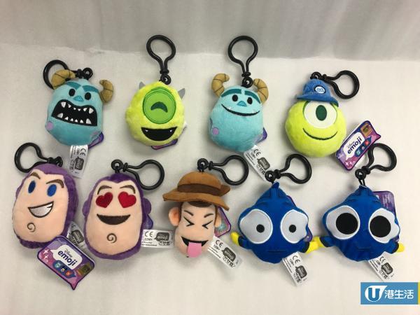 便利店有售!迪士尼emoji鎖匙扣+Sanrio文具新品