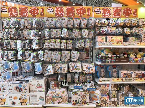連鎖玩具店激減!TSUM TSUM $5/$8/$10