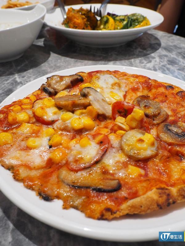 尖沙咀下午茶放題 $98食勻小食/沙律/過20款配料自製Pizza