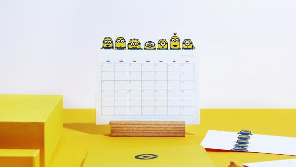 德國鋼筆LAMY x Minions限量套裝!便條/貼紙/座枱月曆