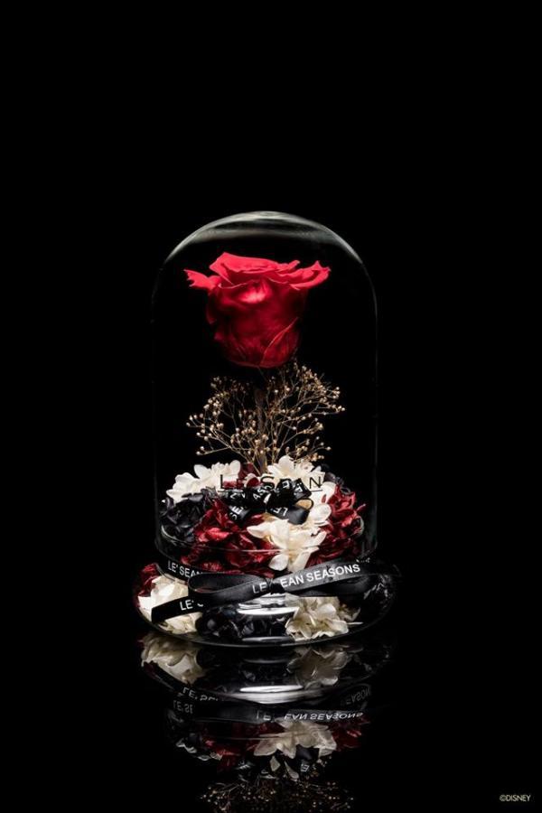 情人節禮物最後機會!LE SEAN限量版邱比特米奇玻璃花