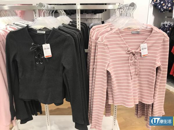 6IXTY8IGHT全線分店減價!針織上衣/Bra$49.9/內褲5條$99.9