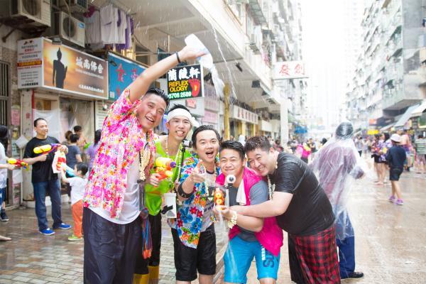 2018香港潑水節空降D2 Place!一連3日嘆泰式小食/市集/潑水戰