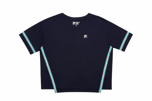 FILA White Line 女裝藍色Top $100 (限量25件)