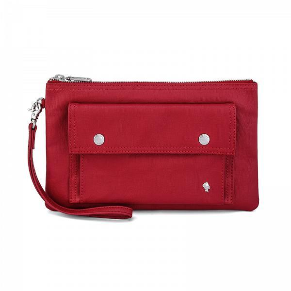 Porter International SPIRIT 手腕包 (紅)