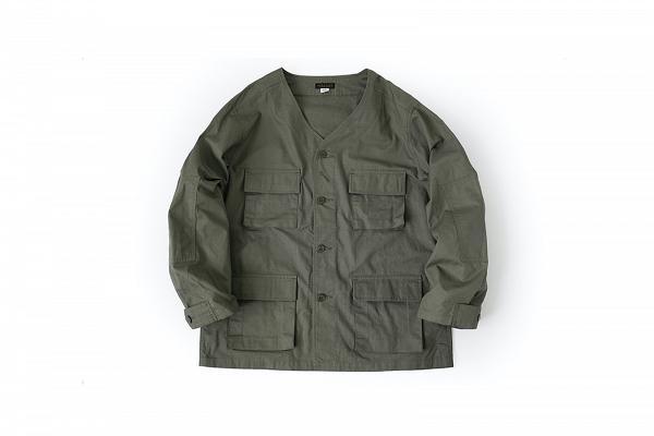 WORKWARE vietnam jacket mod  green1